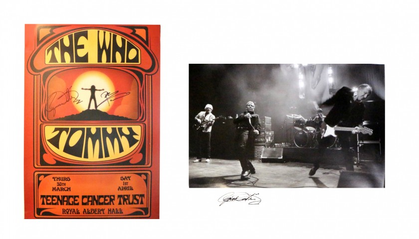 The Who Signed Memorabilia Collection