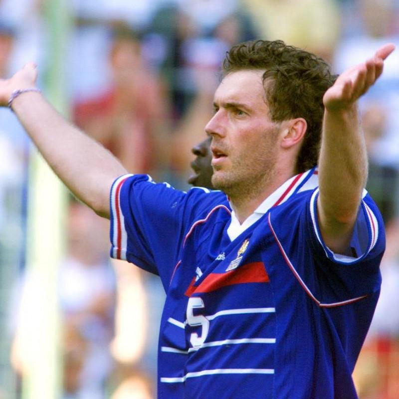 Laurent Blanc's France '98 Signed Shirt