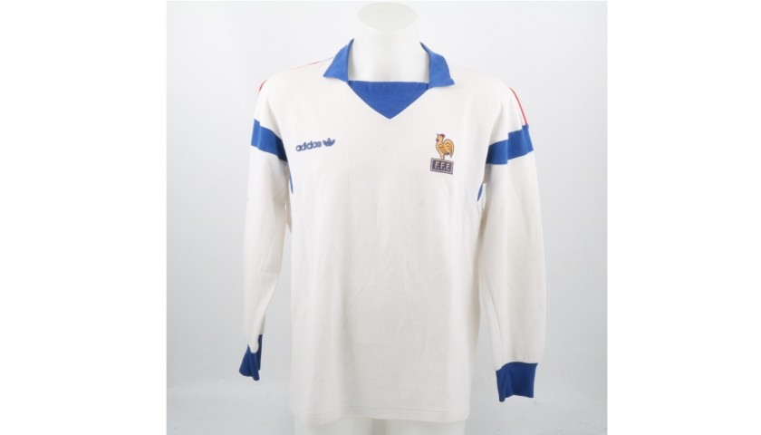 sale retailer ca7ba 9a5da France U21 Match-Worn 1986/87 Shirt - CharityStars
