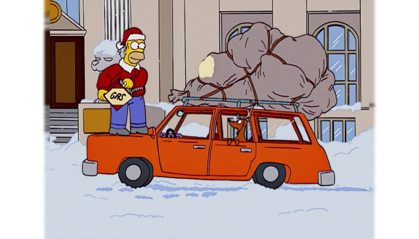 "The Simpsons Original Script - ""Tis the Fifteenth Season"""
