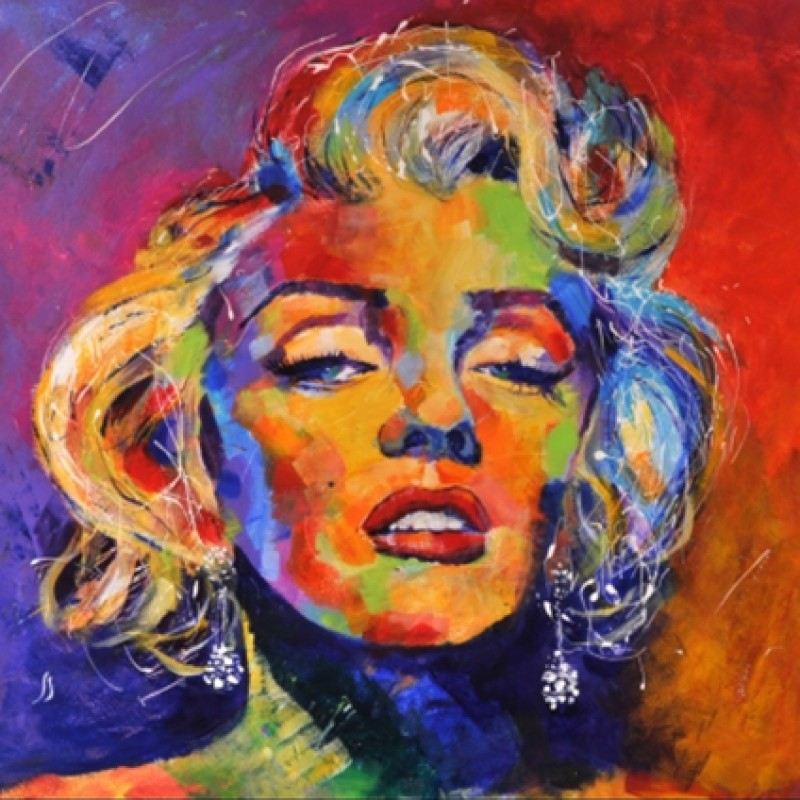 Limited Edition Artwork by SEeL - Marilyn Monroe
