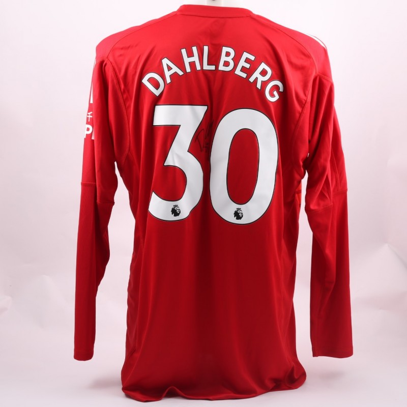 Dahlberg' Watford FC Issued and Signed Poppy Shirt