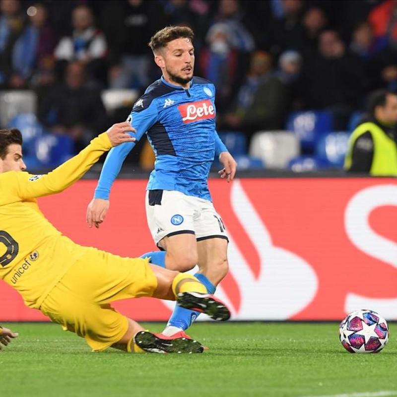 Match-Ball Napoli-Barcelona 2020 - Signed by Mertens