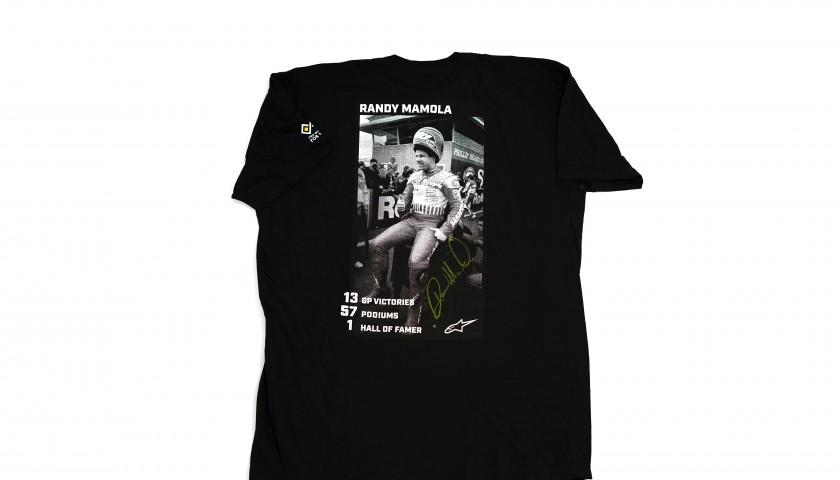 Signed Limited Edition Randy Mamola Alpinestars Tee