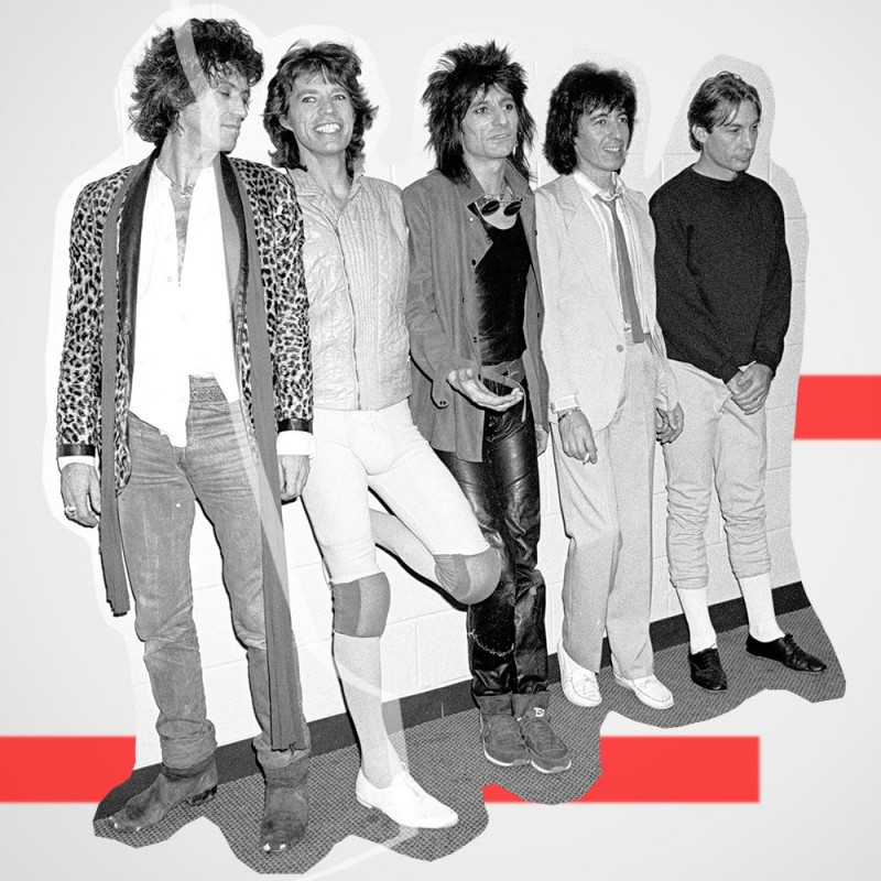 The Rolling Stones Digitally Signed Gold Record Award