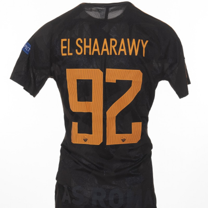 El Shaarawy's Match-Issued Shirt, Atletico Madrid-Roma CL 17/18