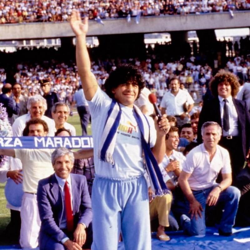 Official Puma Shirt - Signed by Maradona