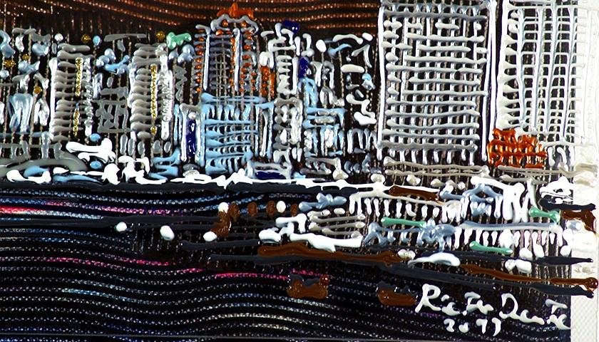 """""""Aria Dura per la Finzione di uno Scorcio Urbano 92 (San Diego)"""" by Pietro Dente"""