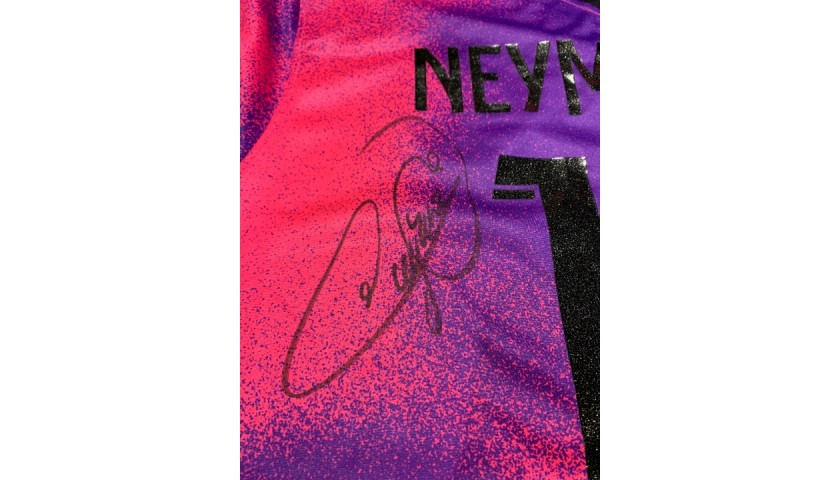 Neymar's Official PSG Signed Shirt, 2020/21