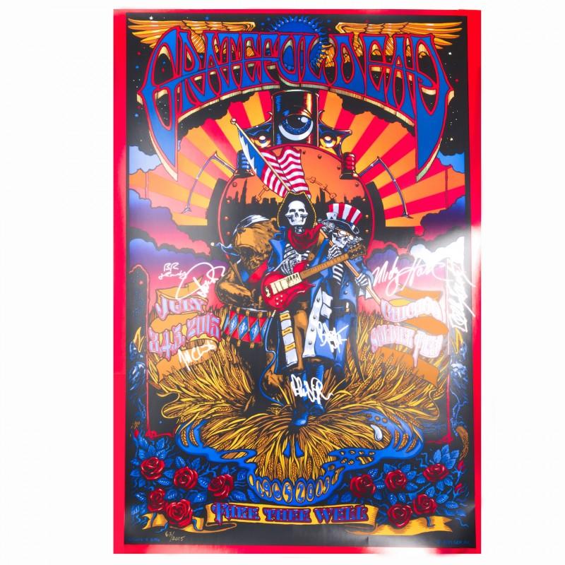 Signed Grateful Dead Poster