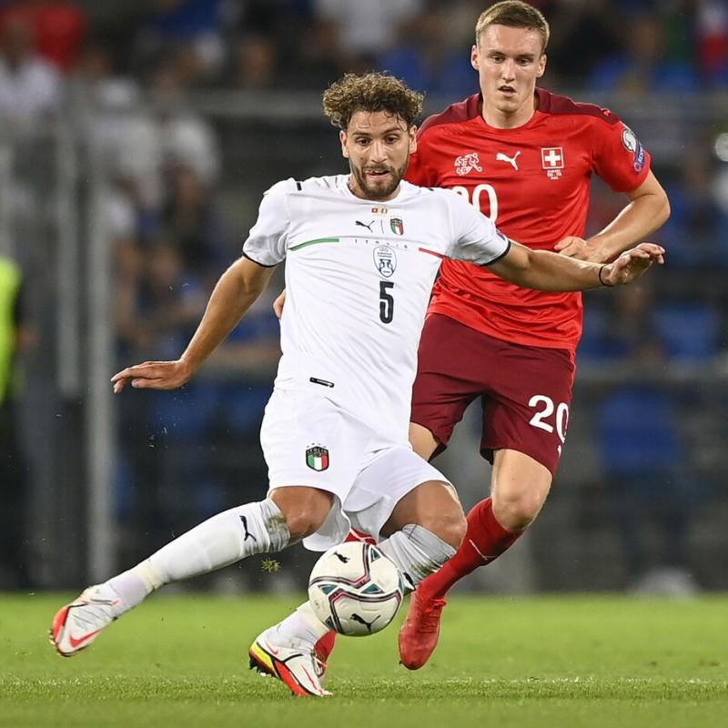 Locatelli's Match Shirt, Switzerland-Italy 2021