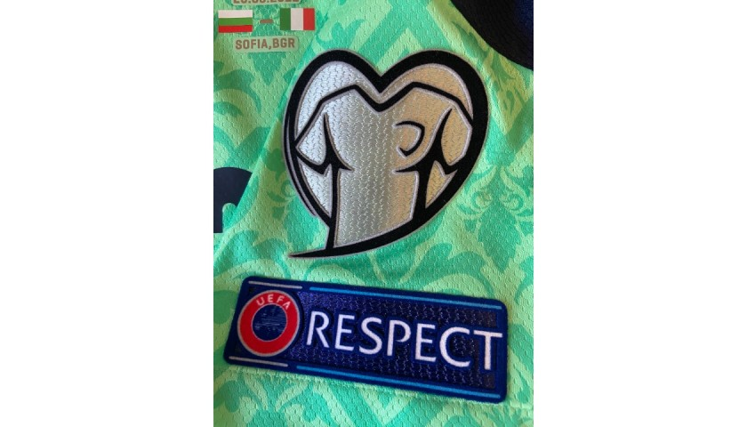 Donnarumma's Match Shirt, Bulgaria-Italy 2021