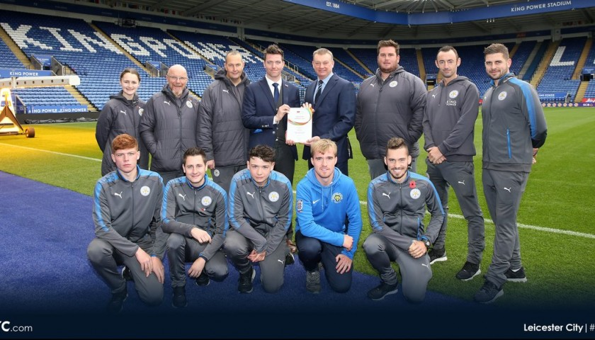 Become a Mascot for the day with Leicester City FC VIP Experience