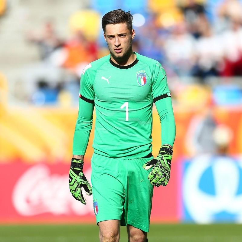 Plizzari's Match Shirt, Italy-Mali 2019