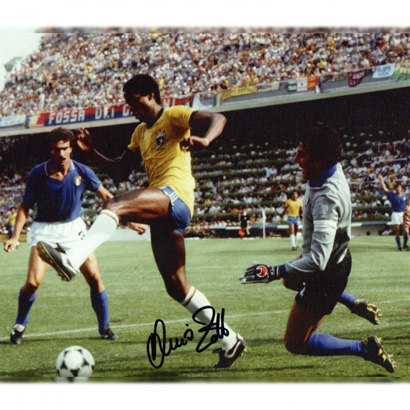 Photograph Signed by Dino Zoff