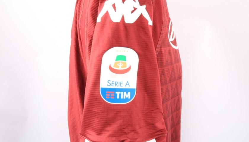 Belotti's Torino Signed Match Shirt, 2018/19