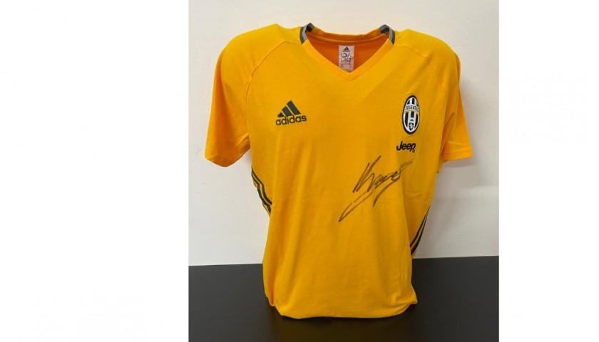 Juventus Training Shirt - Signed by Kean