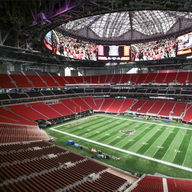 Attend the NFL Championship in Atlanta, USA