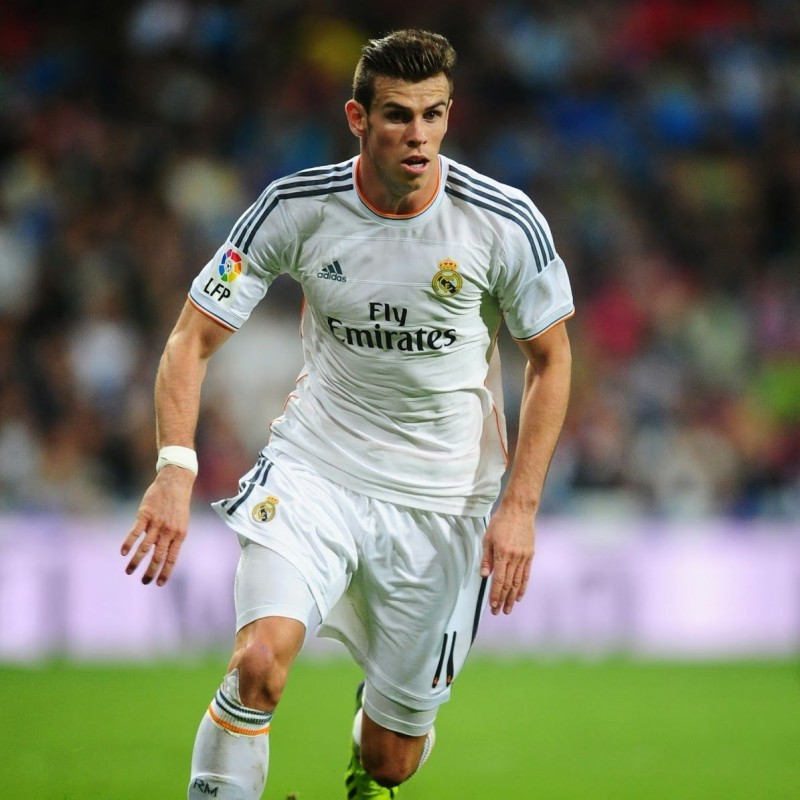 Bale's Official Real Madrid Signed Shirt, 2013/14