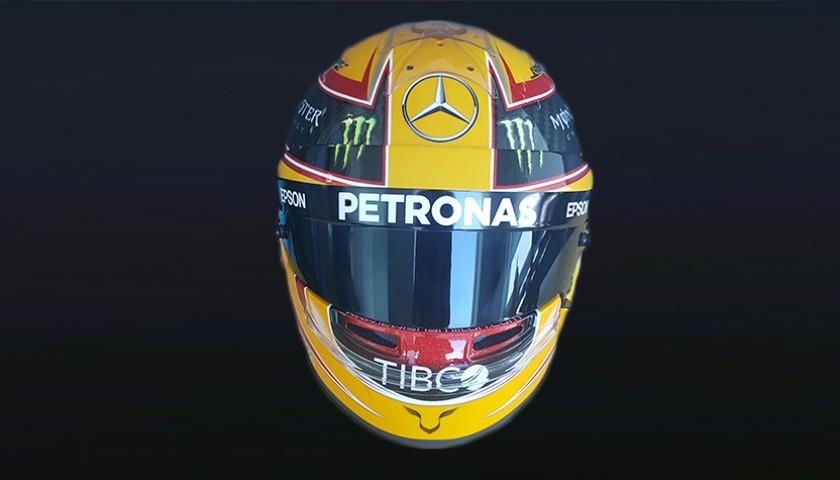 Lewis Hamilton's 2017 F1 Replica Race Helmet