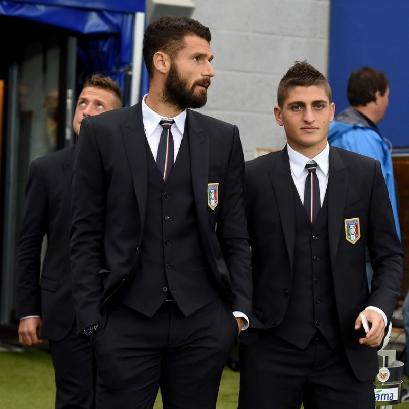 Antonio Candreva's Ermanno Scervino Polo Shirt