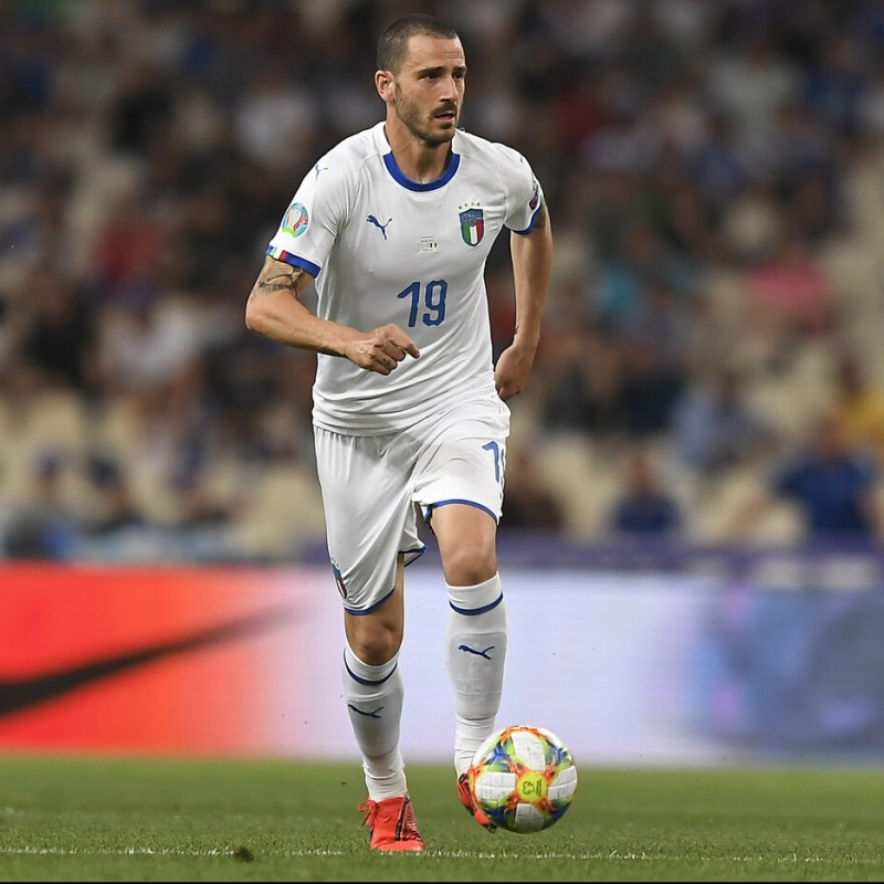 Bonucci's Match Kit, Greece-Italy 2019
