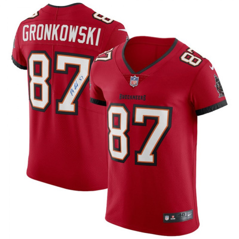 Rob Gronkowski Signed Tampa Bay Buccaneers Jersey