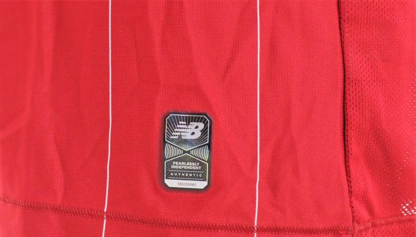 Wijnaldum's Worn Shirt, Liverpool-Chelsea 2020