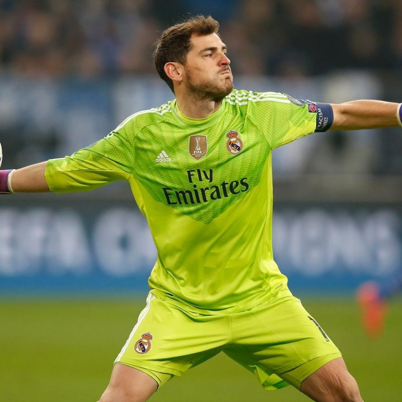 Casillas' Real Madrid Match-Issued Shirt, UCL 2014/15