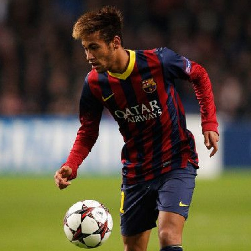 Neymar's Official Barcelona Signed Shirt, 2013/14