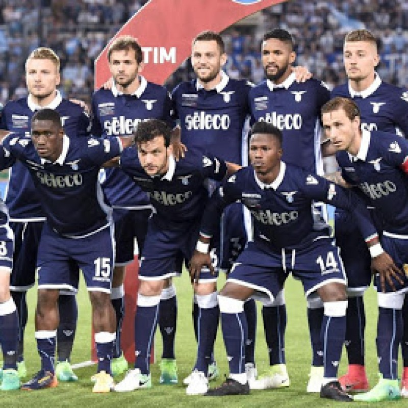 Wallace's Lazio Match Shirt, TIM Cup Final 2017