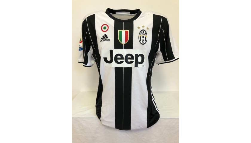 Chiellini's Official Juventus Signed Shirt, 2016/17