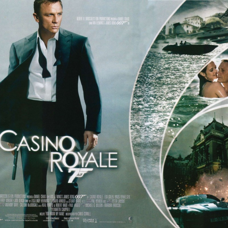 Production Used Storyboards from the James Bond Film Casino Royale
