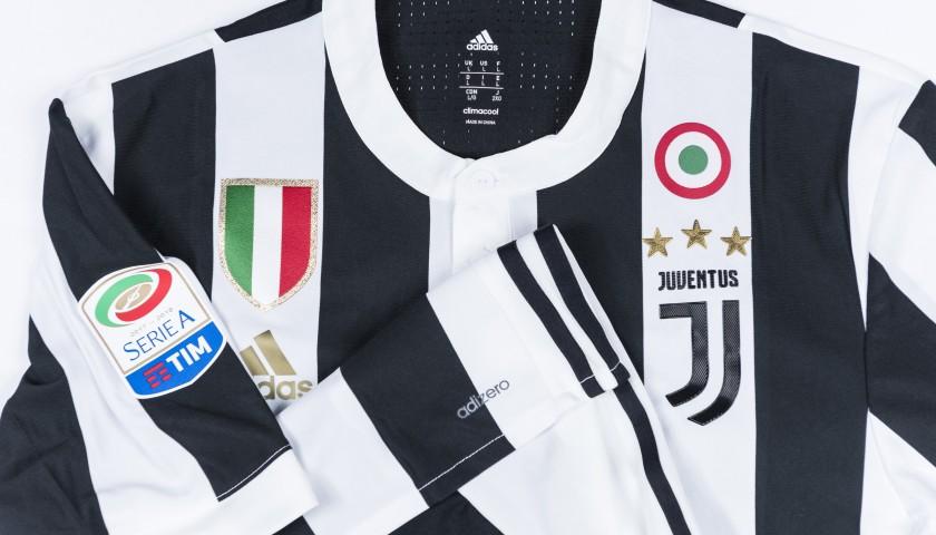 Signed Authentic Higuain Juventus Shirt, 2017/18