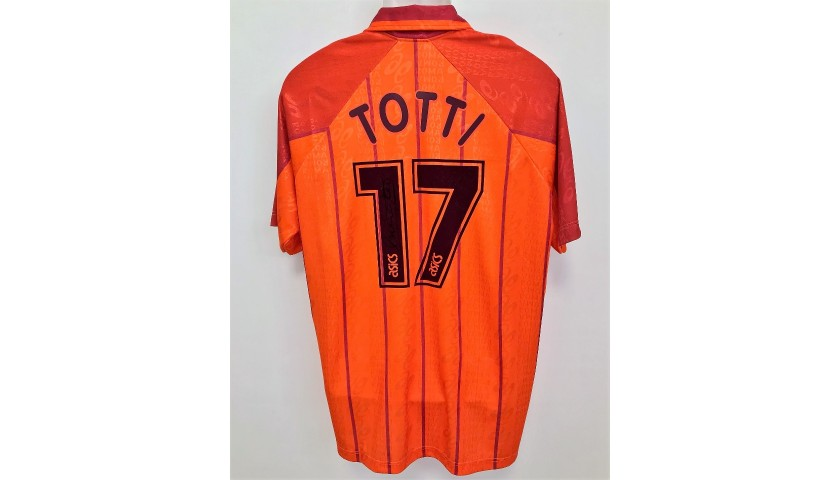 Totti's Roma Match-Issued Shirt, 1996/97