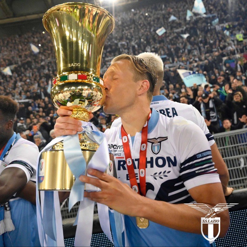 Lucas' Match Shirt, Atalanta-Lazio, TIM Cup 2019 Final