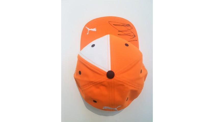 Red Bull Cap Issued for Verstappen - Signed