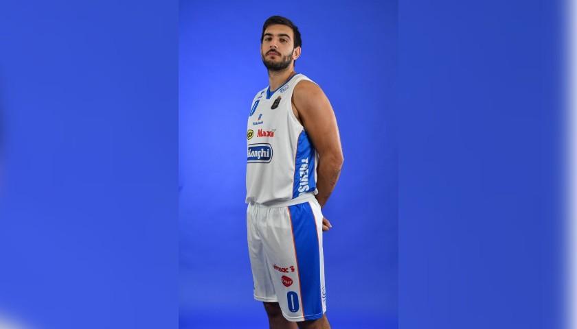 Completo da gara ufficiale De'Longhi Treviso Basket, indossato da Amedeo Tessitori nella stagione 2019/20 in Serie A