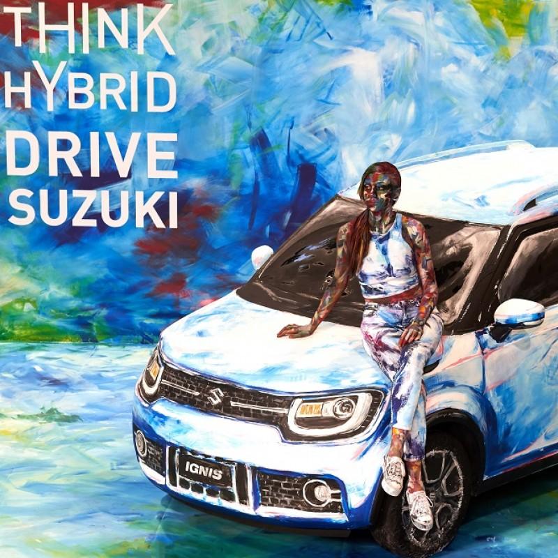 Suzuki Hybrid Art