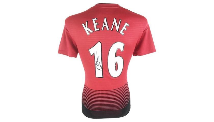 Keane's Manchester United Signed Shirt
