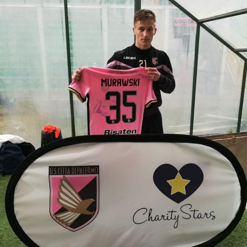 Murawski's Signed Match-Worn 2018 Palermo-Cremonese Shirt