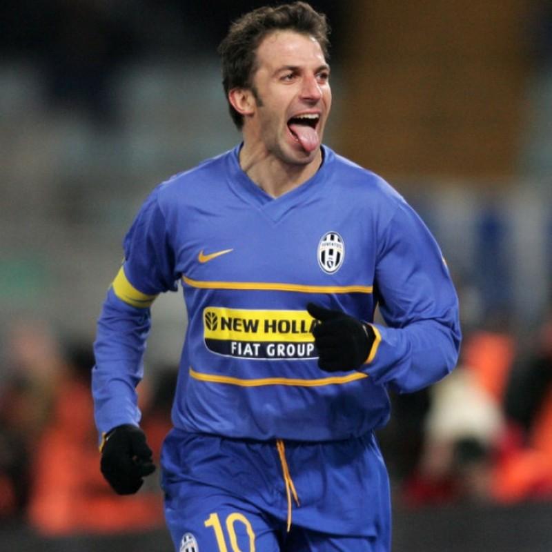 Del Piero's Official Juventus Signed Shirt, 2007/08
