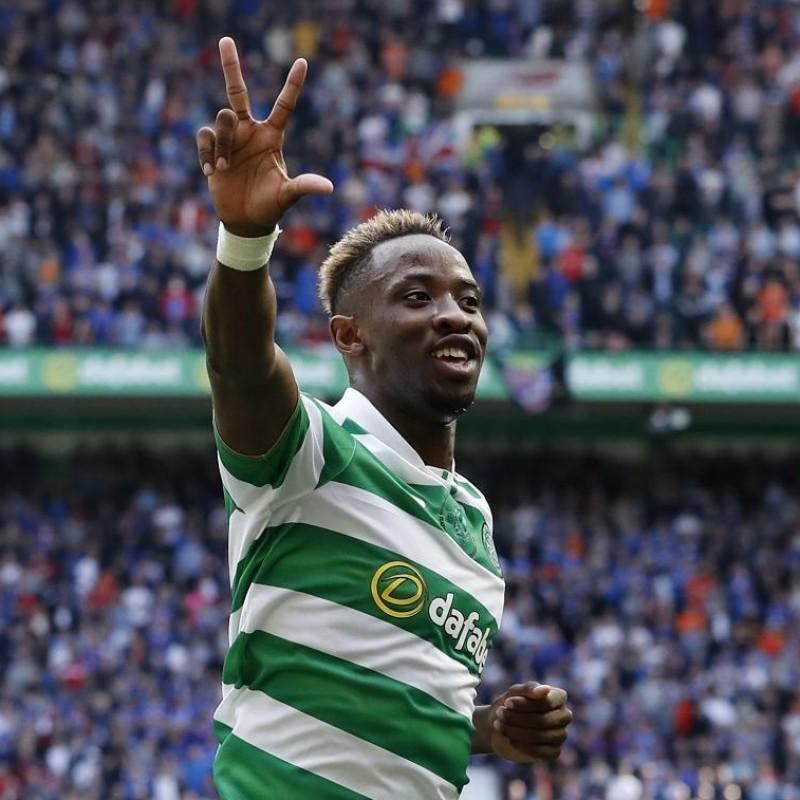 Dembelè's Official Celtic 2016/17 Season Signed Shirt