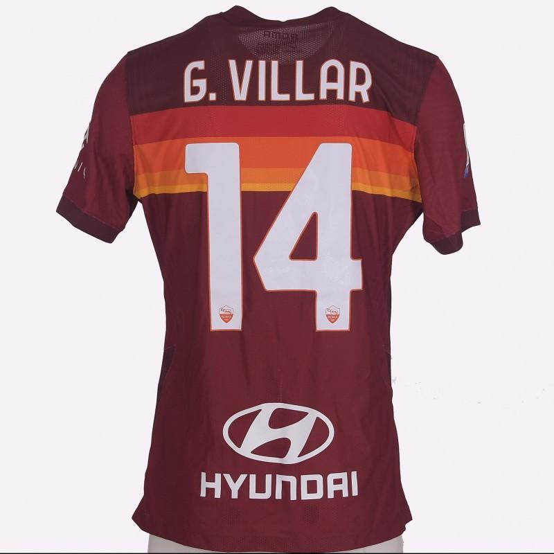 Villar's Worn Shirt, Roma-Udinese 20/21