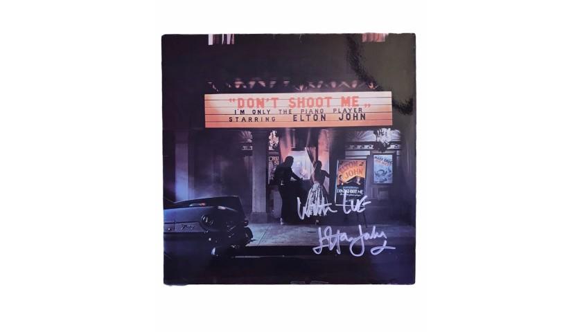 Elton John Signed Don't Shoot Me Vinyl LP