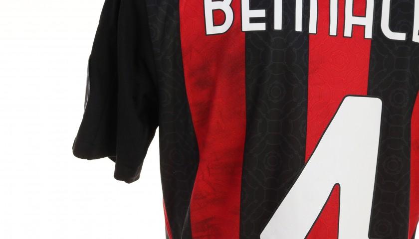 Bennacer's Worn Shirt, Milan-Cagliari 2020