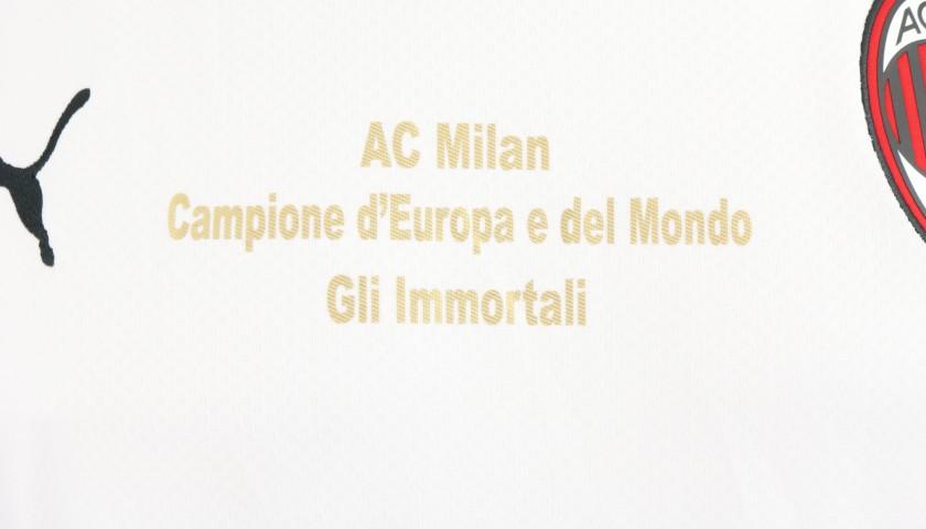 "AC Milan ""Immortali"" Shirt - Signed by Braida"
