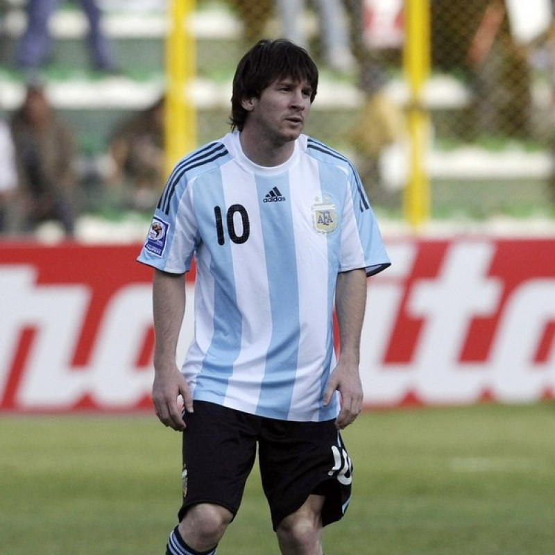Messi's Official Argentina Signed Shirt, 2008
