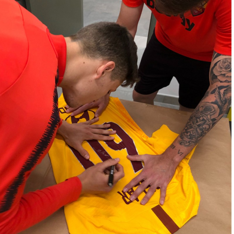 Celar's Match-Issue Shirt, Spal-Roma - Special Giuliano Taccola