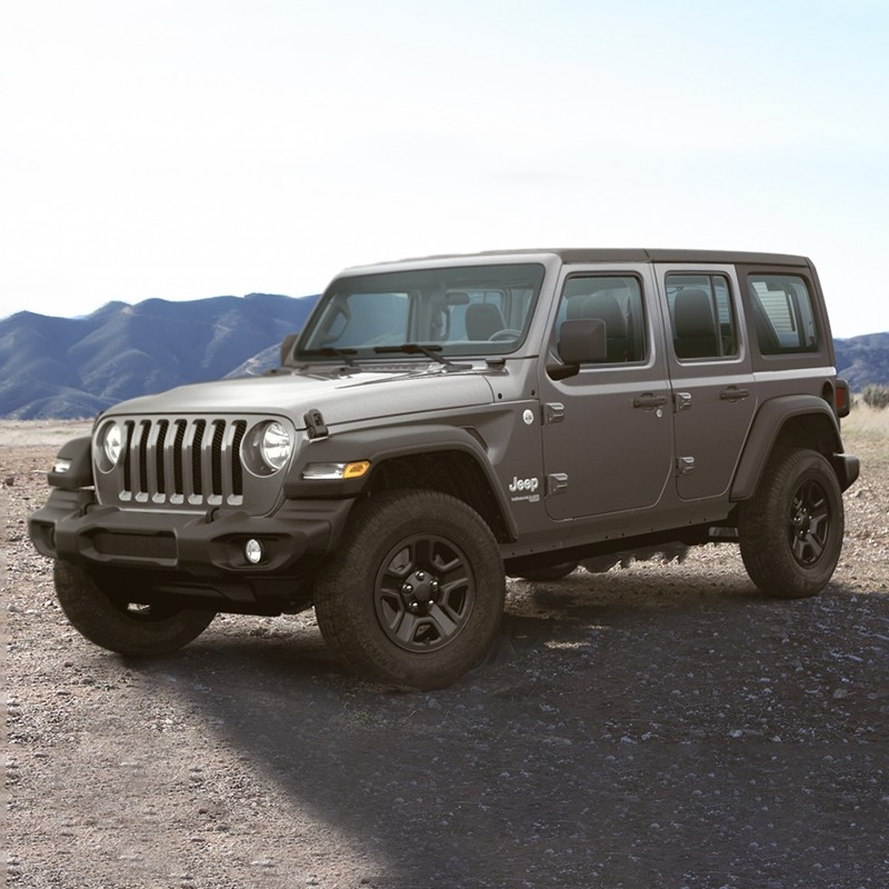 Vinci una Jeep Wrangler del 2020!